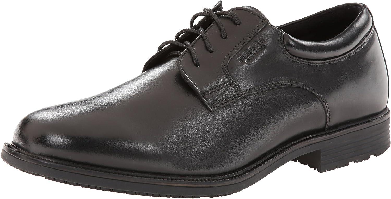 Rockport Men's Essential Details Waterproof Plain-Toe Oxford