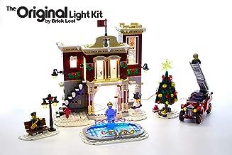Brick Loot LED Lighting Kit for Lego Creator Winter Village Fire Station - 10263 - Custom Designed - Handmade - Durability Tested