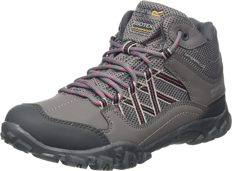 Regatta 永遠の定番モデル Women's 国内在庫 Edgepoint Mid Waterproof Low Hiking Rise Boot