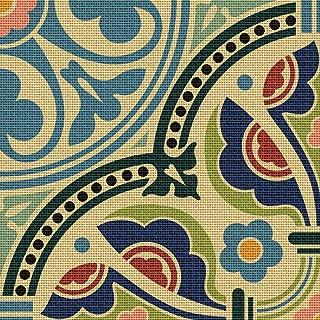 art nouveau needlepoint kit