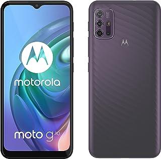 Motorola Moto G10 Dual-SIM 64GB Factory Unlocked 4G/LTE Smartphone (Aurora Grey) - International Version