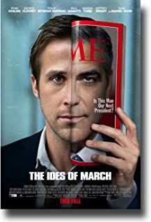 Ides of March Poster - 2011 Movie Teaser Flyer 11 X 17 - George Clooney Ryan Gosling