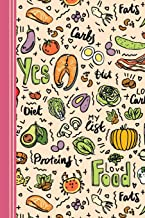 Love Food: Food diary: macronutrients calculator, slimming club compatible, food journal, recipe log and more. Journal for 90 Days. **6