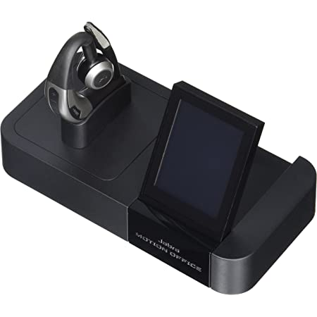 Jabra Motion Office Bluetooth Headset with Touch Screen Base for Desk Phone, VoIP Softphone, Mobile Phones and Tablets