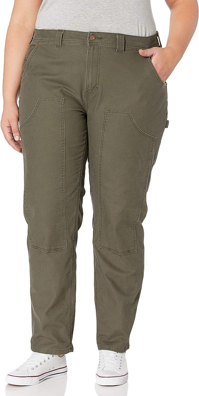 Dickies Size Women's Plus Double Front Denim Carpenter Pants: Clothing, Shoes & Jewelry