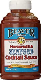 Beaver Brand Cocktail Sauce, 13-Ounce Squeezable Bottles (Pack of 6)
