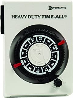 Intermatic HB114 Heavy-Duty Plug-in Air Conditioner and Appliance 240 VAC Timer