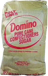 Domino 6X Pure Cane Confectioners Sugar 50 lb. Bag