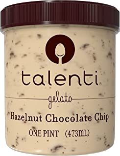 Talenti Hazelnut Chocolate Chip Gelato, 16 oz (frozen)