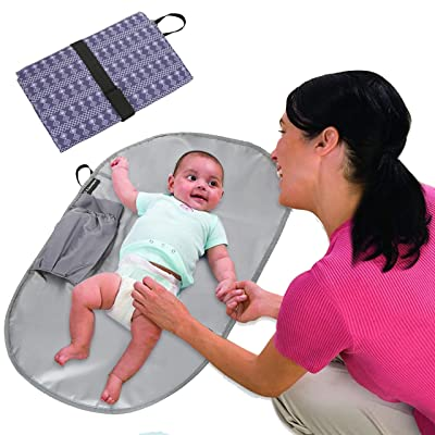 Diaper Changing pad,Changing Clutch and Waterpr...