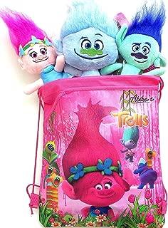 trolls plush backpack