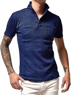 ジョーカーセレクト(JOKER SELECT) メンズ 半袖 ポロシャツ ポロ カットソー 細身 スリム