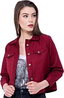 MONTREZ 3/4th Sleeve Solid Women Jacket