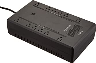 Amazon Basics Standby UPS 800VA 450W Surge Protector Battery Backup, 12 Outlets