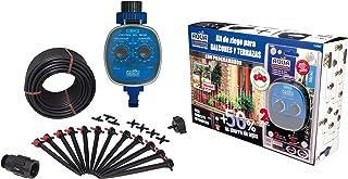 comprar comparacion Aqua Control Riego por Goteo para Balcones-Programador C4099N + 12 Goteros Autocompensantes de 2 l/h + Microtubo de 4 mm, ...