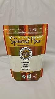 1 lb. Organic, Sprouted Lentil Flour