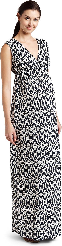 Everly Grey Women's Maternity Jill Maxi Dress