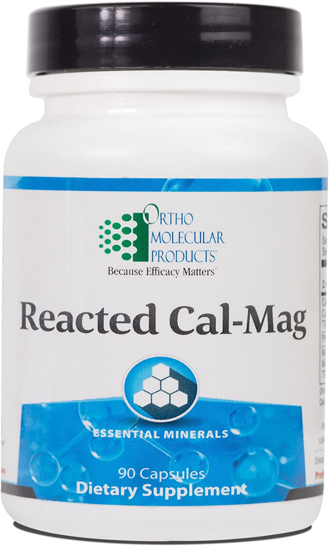 Ortho Molecular - 最新 Reacted 90 Cal-Mag 永遠の定番モデル Capsules