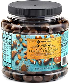 Member's Mark Chocolate Covered Almonds, 48 Oz
