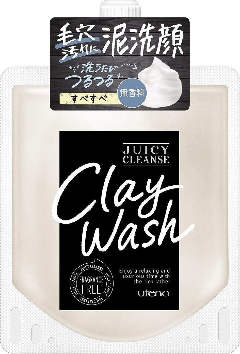 グラフィック異なるドメインJUICY CLEANSE(ジューシィクレンズ) クレイウォッシュ 無香料 110g