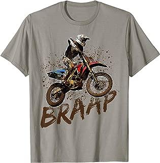 Braap Dirt Bike Racing Off-Road Motocross Racing T-Shirt
