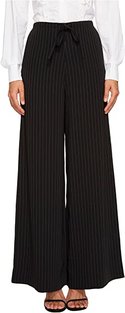 McQ - Long Casual Soft Pinstripe Pants