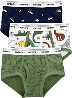 Carter's Boys' 3-Pack Monkey Superhero Cotton Briefs