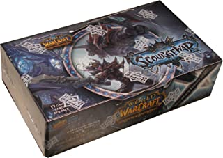 World of Warcraft TCG WoW Trading Card Game Scourgewar Booster Box 24 Packs