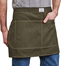 product image for Artifact Unisex Artisan Canvas Waist Apron - Made in Omaha (Olive)