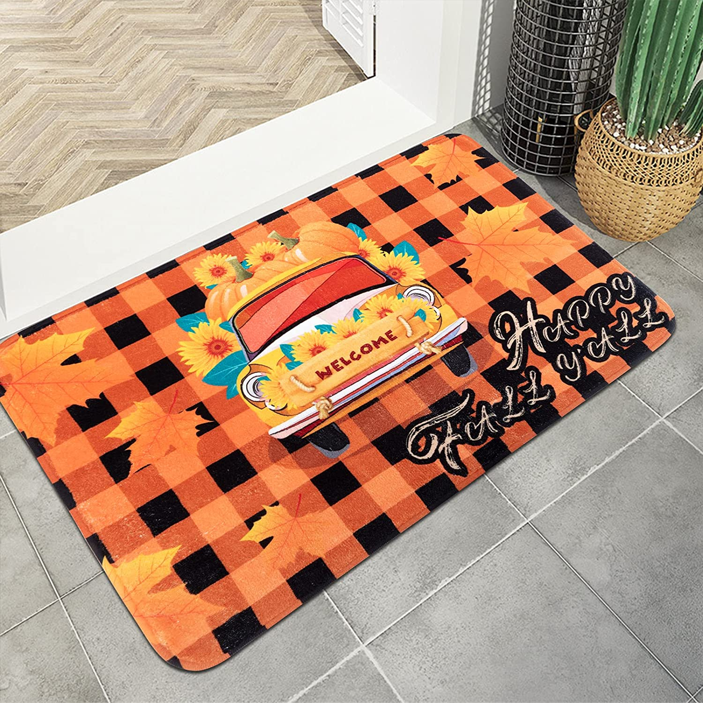 Sfcddtlg Thanksgiving Excellent Limited Special Price Harvest Indoor Entrance-15.7 Doormat 23. x