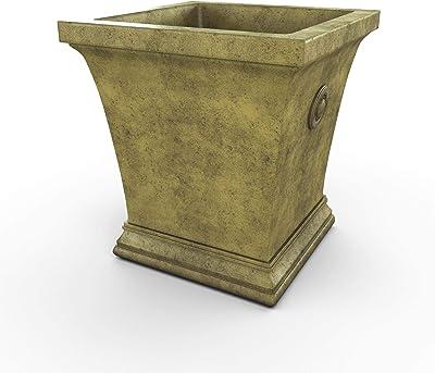 Amazon.com: H Potter cobre decoración de jardín macetero 225 ...