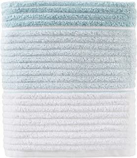 SKL Home by Saturday Knight Ltd. Planet Ombre Bath Towel, Aqua