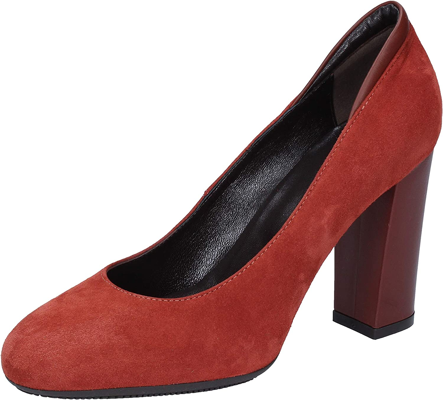 Hogan Pumps-shoes Womens Suede Red