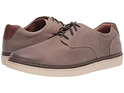Johnston & Murphy Walden Casual Plain Toe Sneaker (Gray) Men