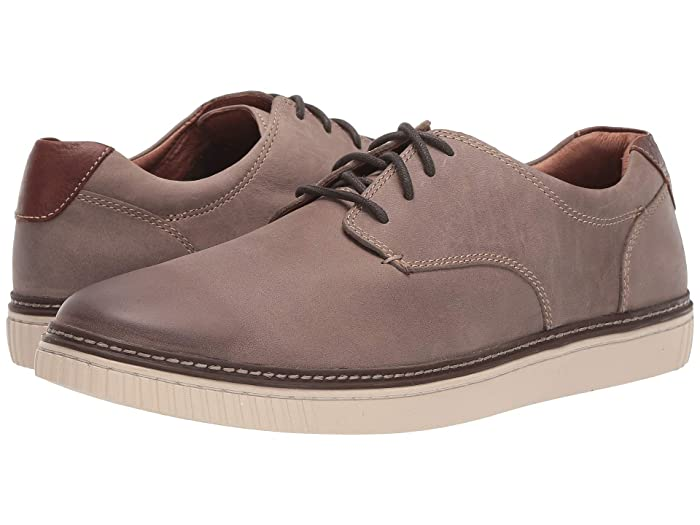 Johnston and Murphy  Walden Casual Plain Toe Sneaker (Gray) Mens Shoes