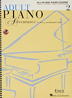 Adult Piano Adventures All-in-One Book 2: Spiral Bound