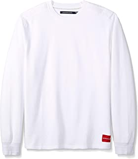 Calvin Klein Men's Long Sleeve Thermal Waffle Crew Neck...