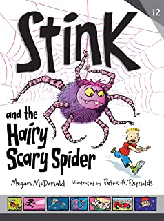 Stink and the Hairy, Scary Spider