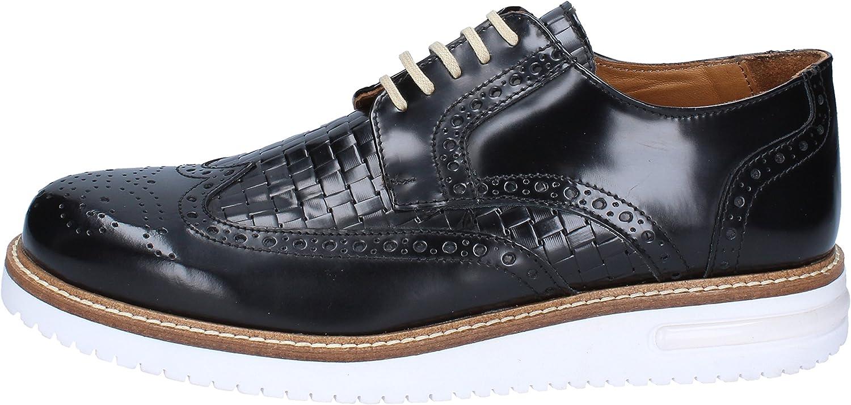 FDF SHOES Oxfords-shoes Mens Leather Black