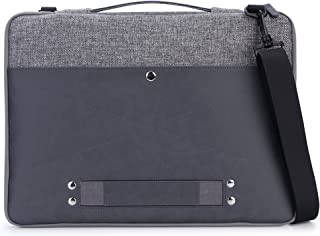 15 Inch Laptop Case, rooCASE 15.6 Inch Leather Laptop Sleeve Cover Bag Handbag for 15..