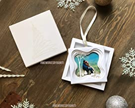 Unique Holiday Photo Ornament Layered Shadow Box-in The Woods Series SHD1-W