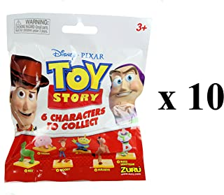 Toy Story Disney Pixar Collectible Figures Mystery Blind Party Bags Pack of 10