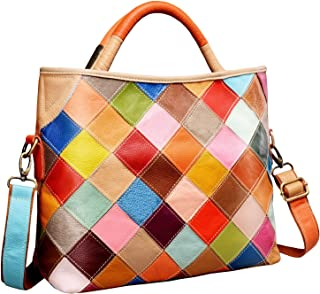 On Clearance Heshe Womens Multi-color Shoulder Bag Hobo Tote Handbag Cross Body Purse