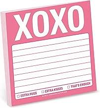 Knock Knock Sticky Note Pad, XOXO