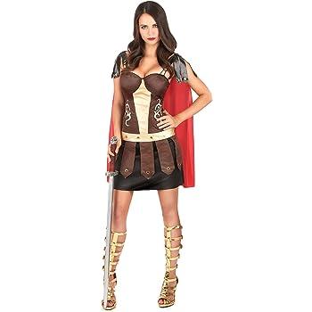 Disfraz de gladiadora romana S/M: Amazon.es: Juguetes y juegos