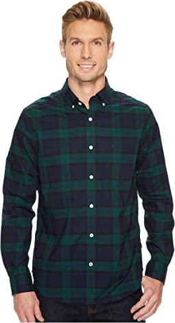 Nautica - Long Sleeve Plaid Shirt