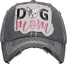 Women's Dog MOM Vintage Cotton Mesh Baseball Hat