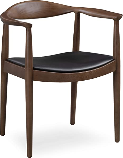 Poly And Bark Kennedy Arm Chair In Walnut