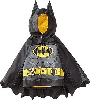 Kids' D.c. Comics Character Lined Rain Jacket