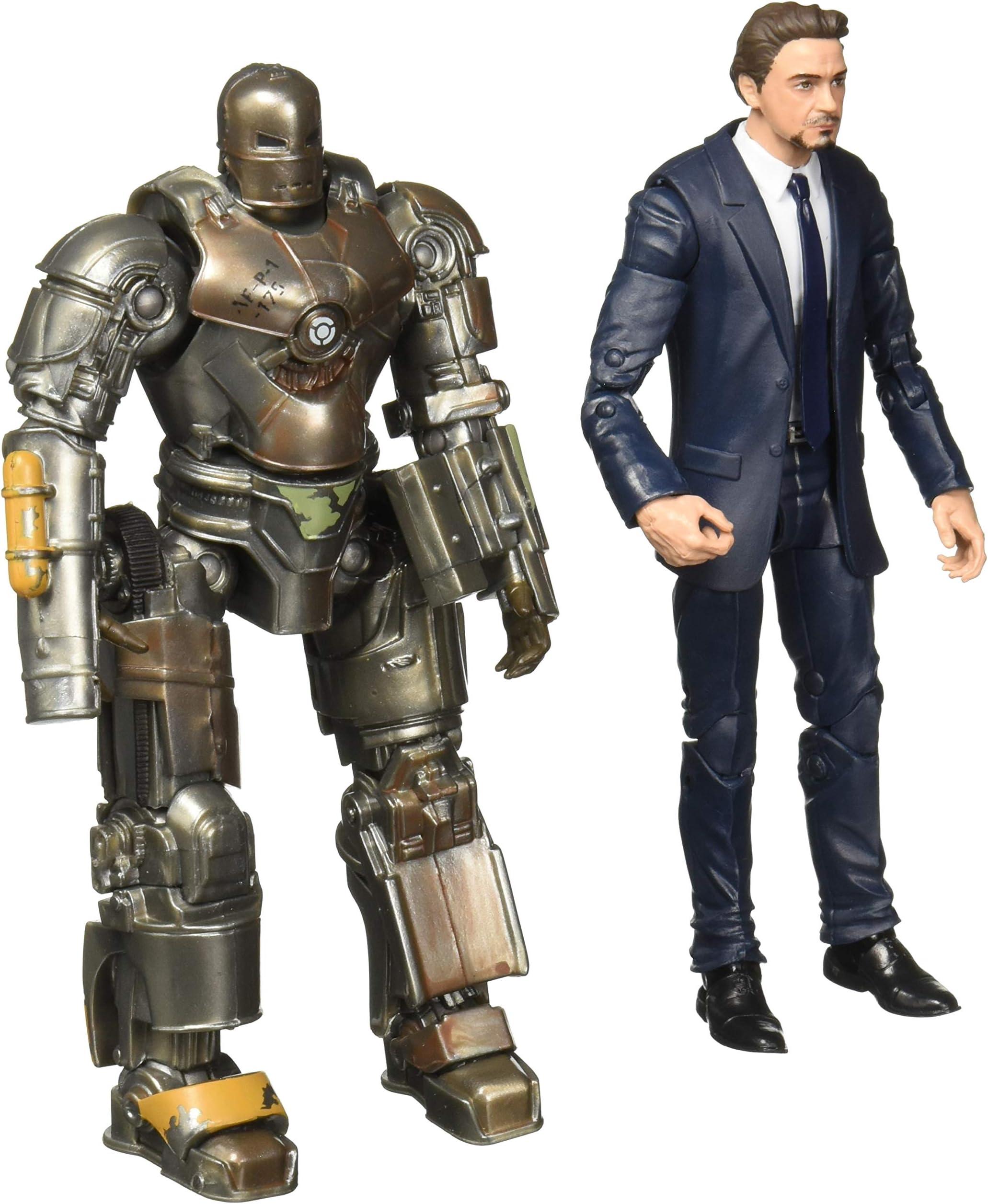 Iron Man Mark 1 /& Tony Stark Marvel Legends 10th Anniversary *LOOSE*